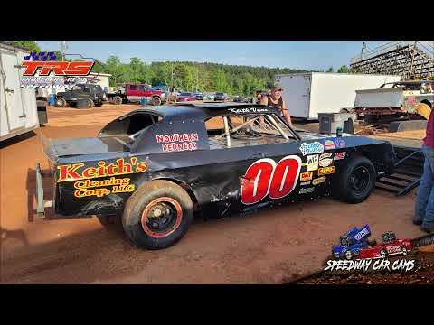 #00 Keith Vane - Thunder - 5-21-21 Travelers Rest Speedway - InCar Camera - dirt track racing video image