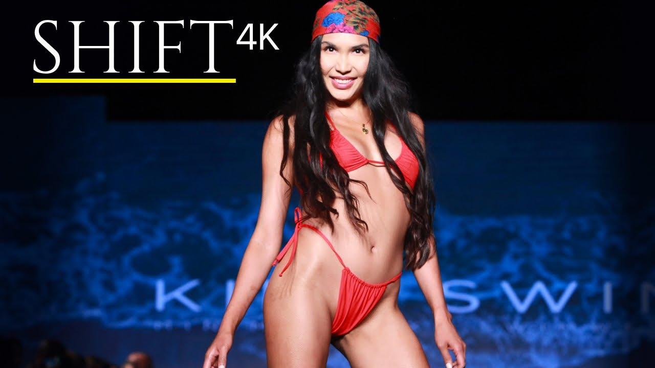 KINO SWIM 2021 bikinis / 4K / with models ZARINA EVA and ALIZEE PARADIS