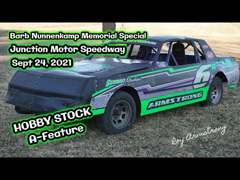 09/24/2021 Junction Motor Speedway Hobby Stock A-Feature - dirt track racing video image