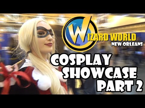 Wizard World Cosplay Showcase Part 2 - 2018 - UCg_dr-Z-9PAPNjJZUUDc93Q