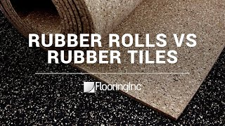 Rubber Rolls vs Tiles