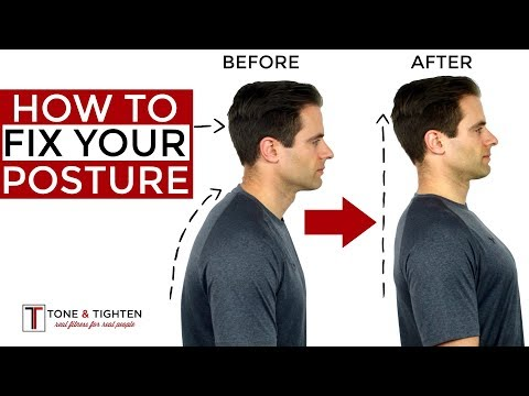How To Correct Your Posture - 5 Home Exercises To Fix Your Posture - UCJASBOyF4Fkd26SIwRhLuZw