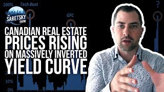 Canadian Real Estate Prices Rising on Massively Inverted Yield Curve