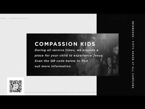 Compassion Live, Harrison Huxford, 11AM