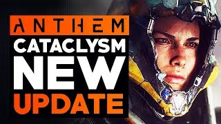 Anthem Cataclysm NEW UPDATE - LEGENDARY Support GEAR,  New Events & Hunting and Doing some GM3's
