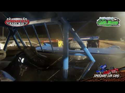 #15A Mike Anderson - Cash Money Late Model - 9-22-2020 Springfield Raceway - In Car Camera - dirt track racing video image
