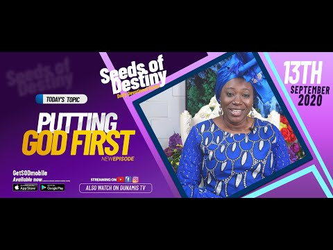 Dr Becky Paul-Enenche - SEEDS OF DESTINY - SUNDAY SEPTEMBER 13, 2020