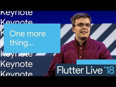 One More Thing (Flutter Live) - UC_x5XG1OV2P6uZZ5FSM9Ttw