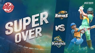 Super Over | Winnipeg Hawks vs Vancouver Knights | Final match Highlights  |GT20 Canada 2019
