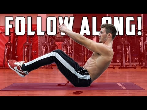 Follow Along Six Pack Abs Workout | 5 Bodyweight Ab Exercises - UCOFCwvhDoUvYcfpD7RJKQwA
