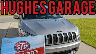 Sostituzione filtro aria abitacolo Jeep Cherokee KL