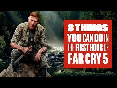 8 Things You Can Do in The First Hour of Far Cry 5 - New Far Cry 5 Gameplay - UCciKycgzURdymx-GRSY2_dA