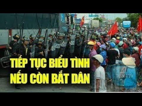 Bình Thuận : Dân cảnh báo 'lại biểu tình' nếu CA 'truy bắt'