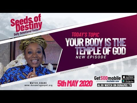 Dr Becky Paul-Enenche - SEEDS OF DESTINY  TUESDAY, 05 MAY, 2020