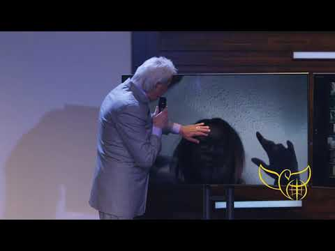 Pastor Benny Hinn prays for woman with heart condition
