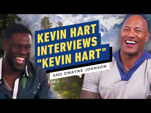 Kevin Hart Impersonates Host While Interviewing Dwayne Johnson - UCKy1dAqELo0zrOtPkf0eTMw