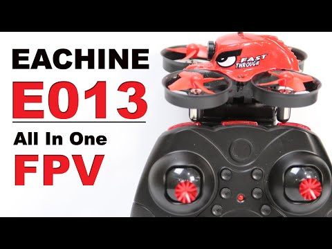 This Could Be Your Very First FPV Drone!  Eachine E013 FPV Kit - UCm0rmRuPifODAiW8zSLXs2A