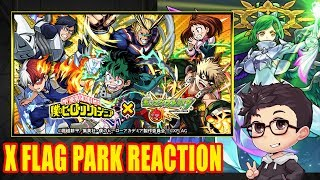 Monster Strike x Boku no Hero Academia Collab & Gabriel Trans Announcement Reaction