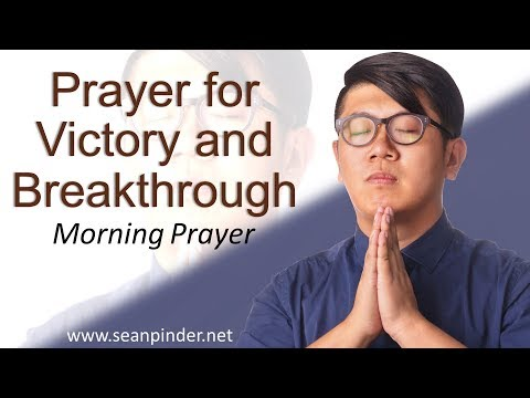PSALM 40 - PRAYER FOR VICTORY AND BREAKTHROUGH - MORNING PRAYER (video)