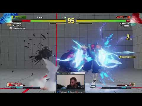 SFV Ranked Matches on Ryu birthday