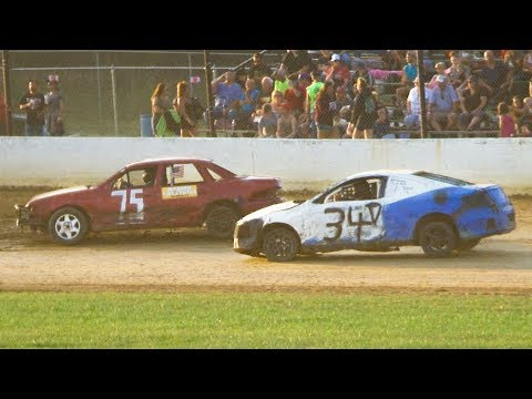 The Challenger Makeup Feature (July 20th) at Stateline Speedway (Busti, NY) on Saturday, July 27th, 2019!   Results:   Stateline Speedway:  http://newstatelinespeedway.com/ - dirt track racing video image