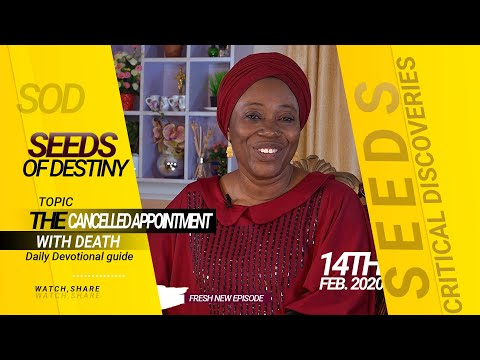 Dr. Becky Paul-Enenche - SEEDS OF DESTINY - FRIDAY 14TH FEBRUARY, 2020