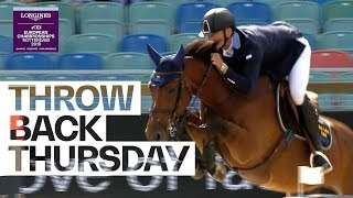 Fence down? Penalty? - Peder Fredricson claims gold anyway! #TBT | FEI European Championships