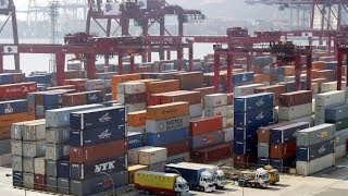 President Trump tweets about China's slumping economy