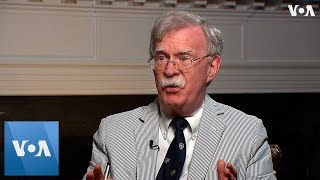 VOA Interview: National Security Adviser John Bolton on Hong Kong