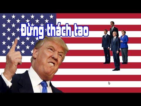 Hoa kỳ có thể bị NATO ruồng bỏ vì phát biểu ngông cuồng của tổng thống Donal Trump