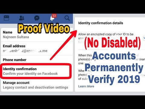 Facebook New Updated | Identity Confirmation | Accounts Permanently