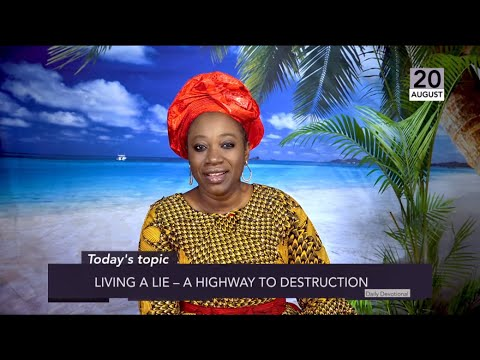 Dr Becky Paul-Enenche - SEEDS OF DESTINY  TUESDAY 20TH AUGUST 2019