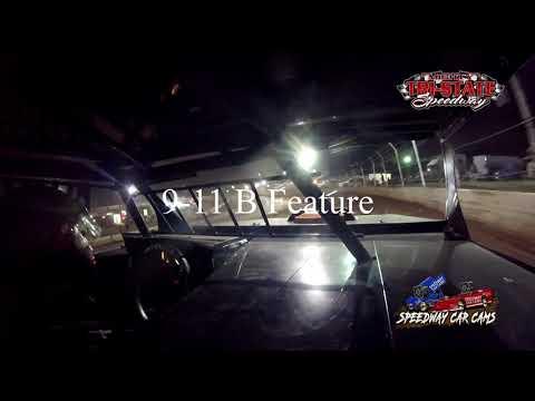 #45 Dan Culp - USRA B-Mods - 9-11-2021 Tri-State Speedway - In Car Camera - dirt track racing video image