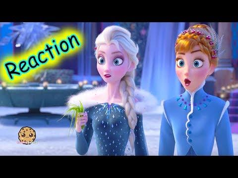 Disney Olaf's Frozen Adventure Short Movie Trailer Reaction + Queen Elsa Princess Anna Dolls - UCelMeixAOTs2OQAAi9wU8-g