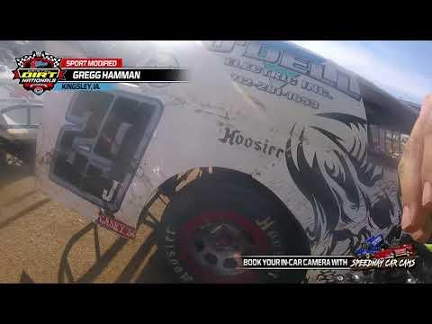 #29J Gregg Hamman - Heats and Features - Sport Mod - 3-2021 Bristol Dirt Nationals - InCar Cam - dirt track racing video image