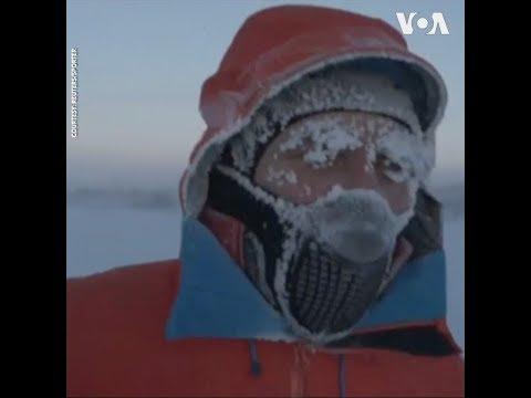 Chạy marathon ngoài trời -60 độ C để quyên tiền giúp bệnh nhi  (VOA)