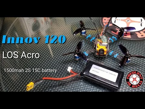 Innov 120 LOS Acro - Can A Big 1500mah 2S Battery with Low 15C Work Well? - UCNUx9bQyEI0k6CQpo4TaNAw