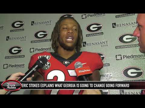 Georgia cornerback Eric Stokes discusses defensive performance in South Carolina loss