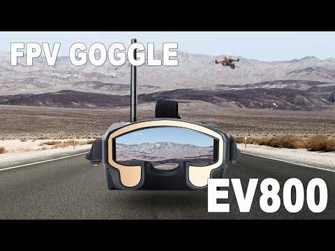 Eachine EV800 FPV Goggle - Drone Racing Monitor Review - UCf_qcnFVTGkC54qYmuLdUKA