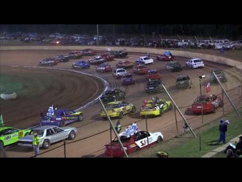 2013/14 National Modified Sedan Title (Night 1): Albany Speedway   19th April 2014 - dirt track racing video image