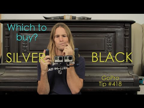 GoPro Hero4 Silver or Black? Which one to buy? GoPro Tip #418 | MicBergsma
