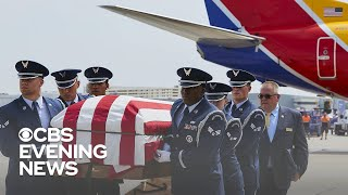 U.S. Air Force Col. Roy Knight welcomed home with full military honors