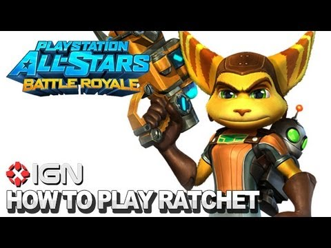 How to Use Ratchet & Clank in PlayStation All-Stars Battle Royale - UCKy1dAqELo0zrOtPkf0eTMw