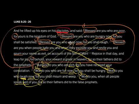 Luke 6:2026 // The Kind of People God Blesses
