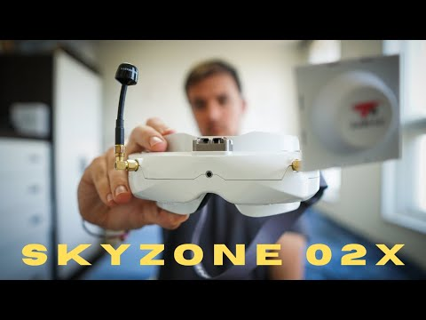 Best Value FPV Goggles?? Skyzone 02X and 02C First Impressions - UCW95xJRXLFsbMPXA9RS2ljA