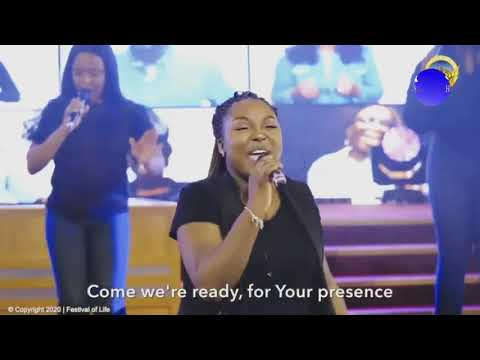 THE FESTIVAL OF LIFE CHOIR WORSHIP  JOY IS COMING 2020