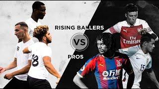 RISING BALLERS Vs. PRO PLAYERS!