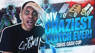 This Was My MOST INTENSE Clutch! $1,000,000 FINALS - FORTNITE TRIOS CASH CUP