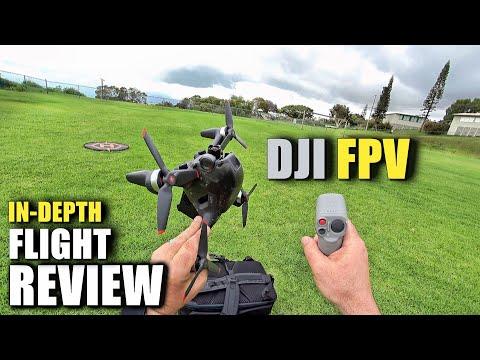 DJI FPV Drone Flight Test Review IN DEPTH + Motion Control & Fly More Kit [How Does It REALLY Work?] - UCVQWy-DTLpRqnuA17WZkjRQ