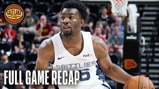 CAVALIERS vs GRIZZLIES | Balanced Attack Leads Memphis | California Classic